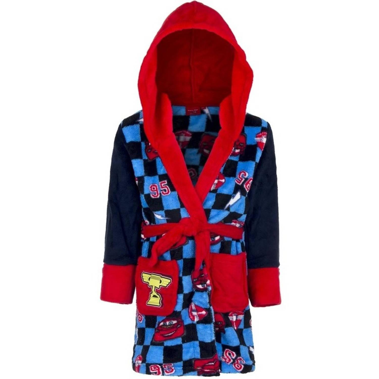 23f09a730a2 Blauw/rode Cars badjas met capuchon voor jongens 128 (8 jaar) | Blokker