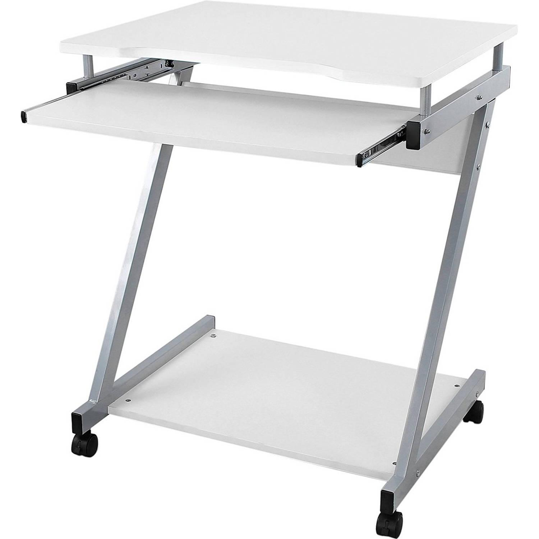 Kleine Computertafel Ikea.Computertafel Bureau Op Wielen Verrijdbaar Computerbureau Blokker