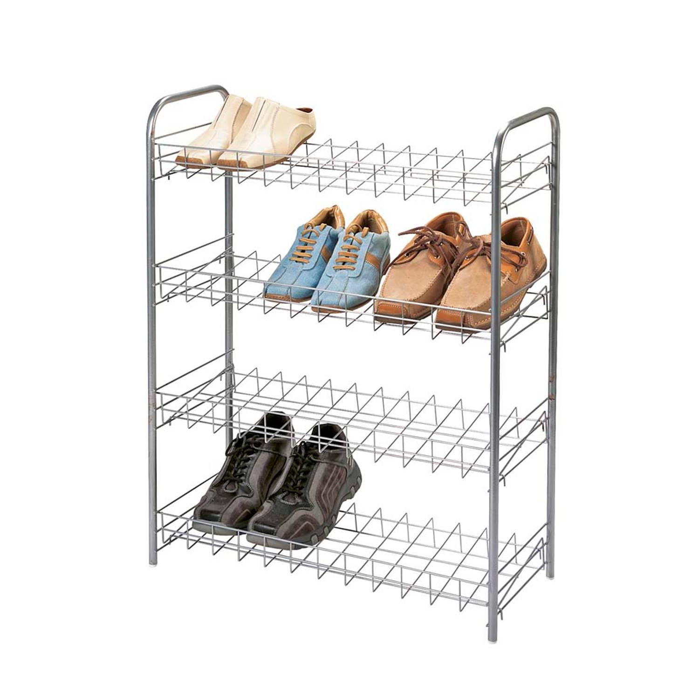 Tomado schoenenrek - 4 etages - 12 paar schoenen