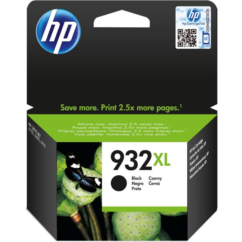 HP 932XL zwart Cartridge