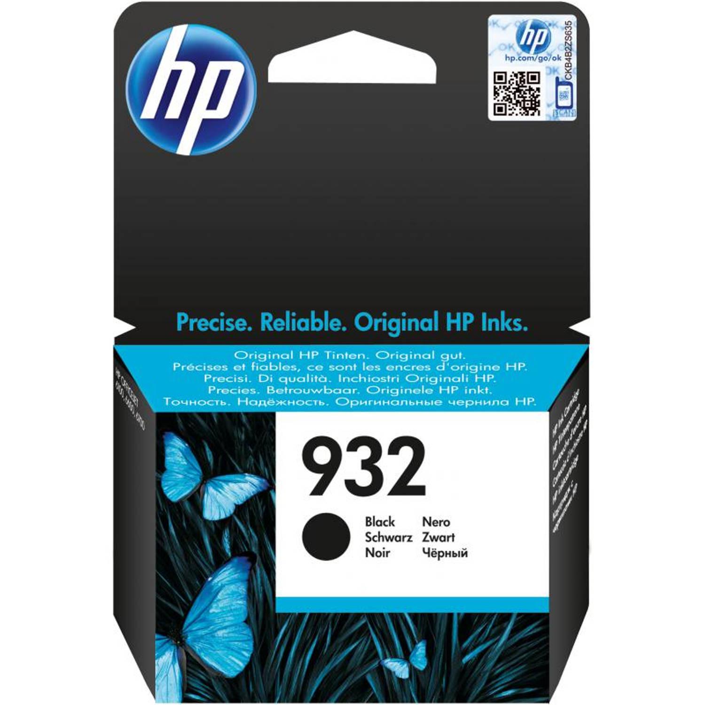 HP 932 zwart Cartridge