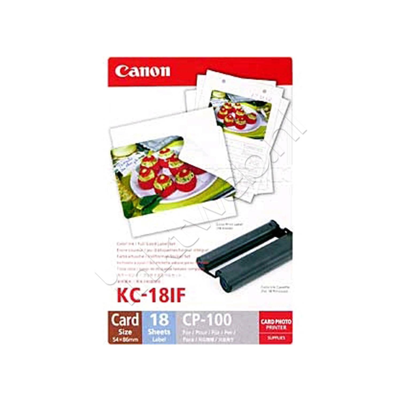 Canon KC-18IF cartridge en stickers kleur Cartridge