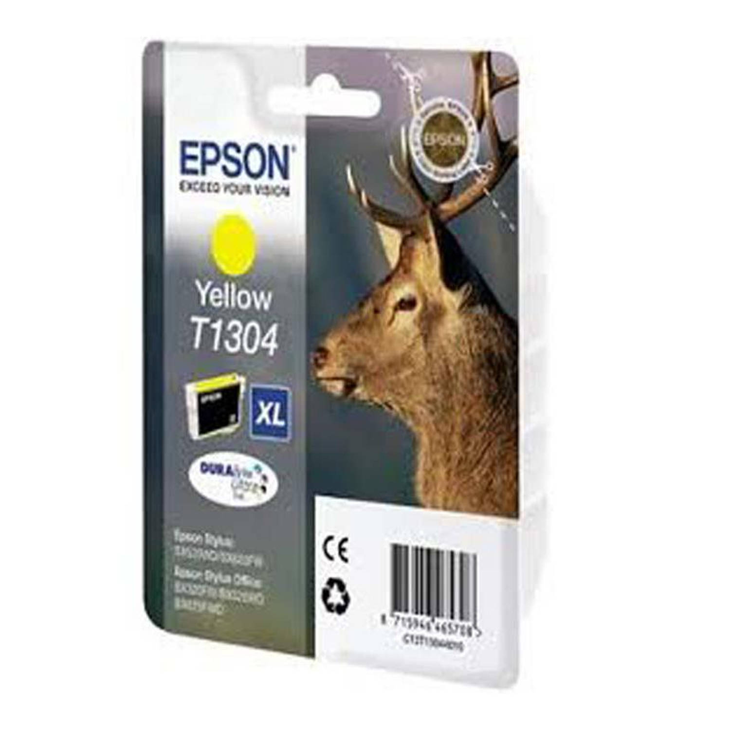 Epson T1304 geel Cartridge