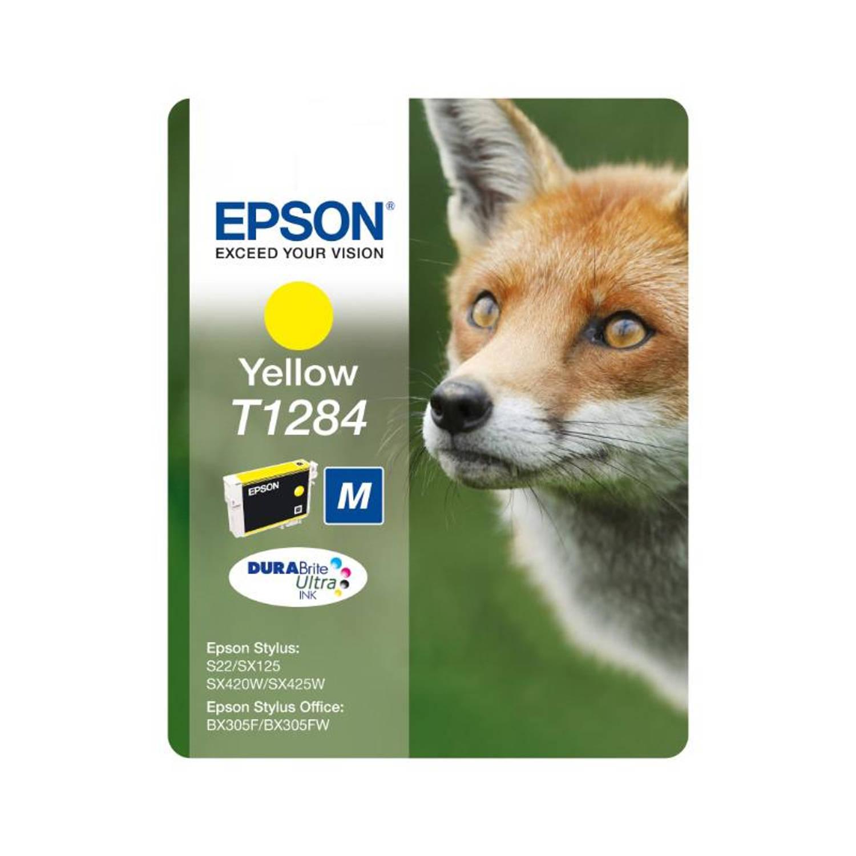Epson T1284 geel Cartridge
