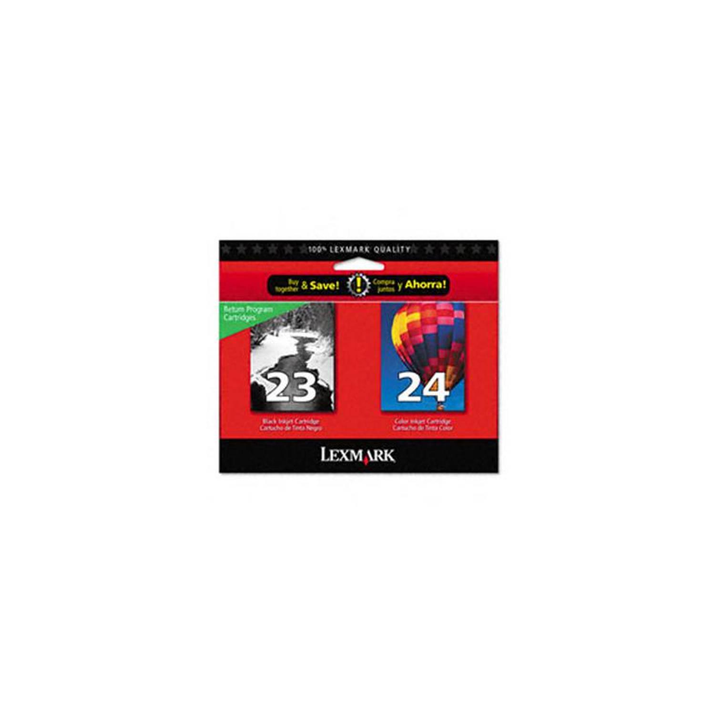 Lexmark 23 en 24 zwart en kleur Cartridge