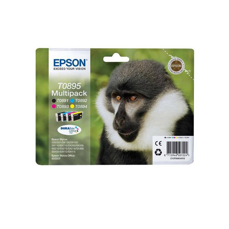 Epson T0895 Multipack zwart en kleur Cartridge