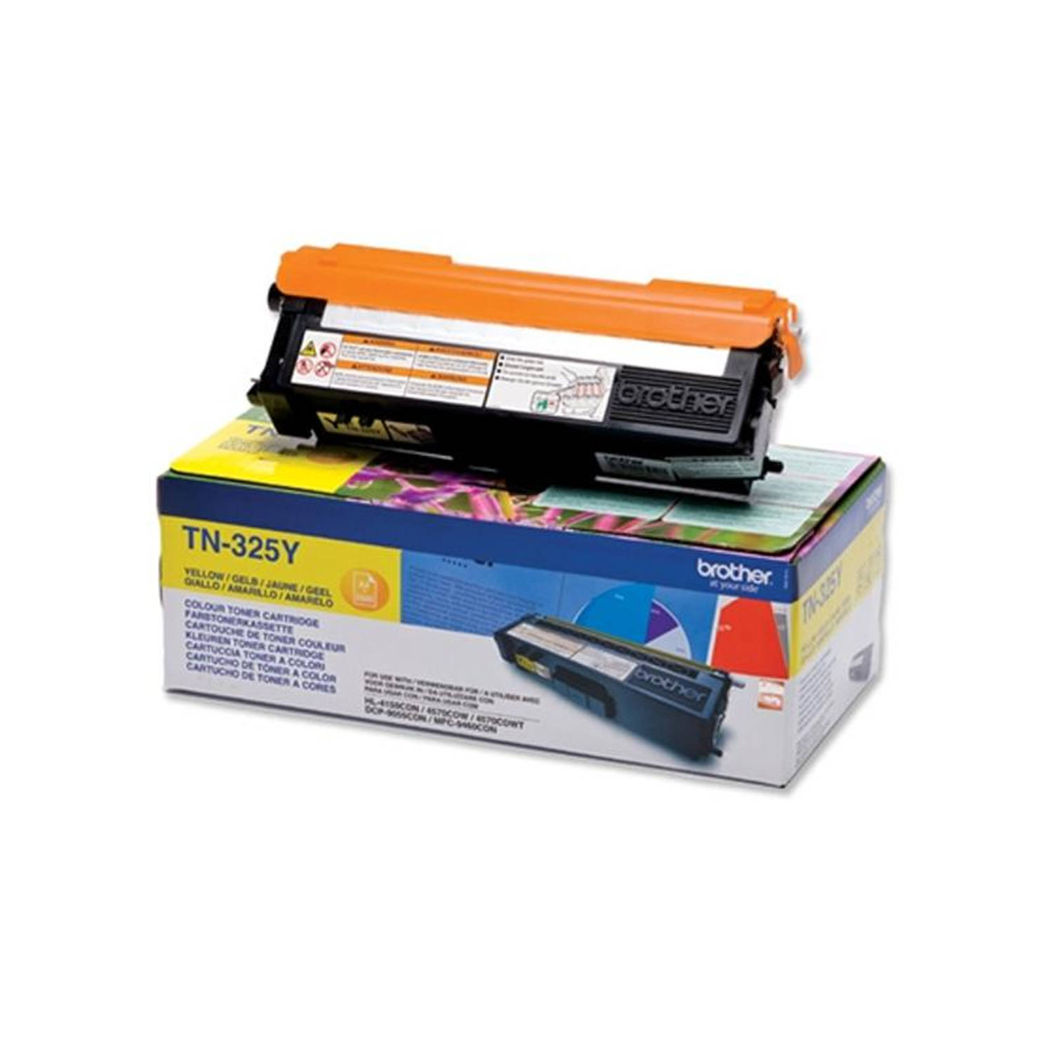 Brother TN-325 geel Toner
