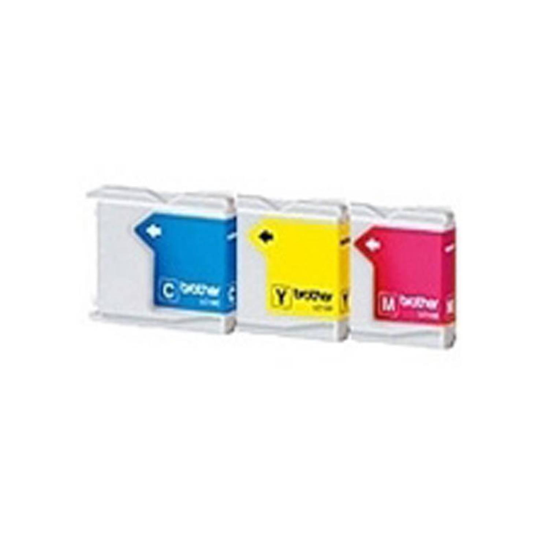 Brother LC-1000 3-pack kleur Cartridge