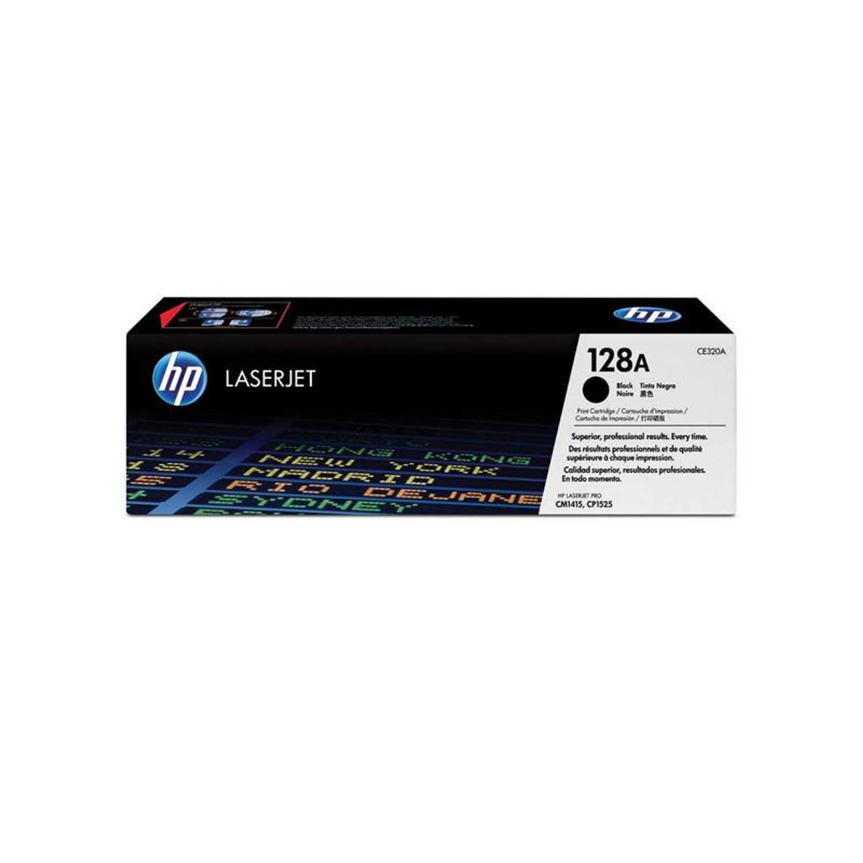 HP 128 zwart Toner