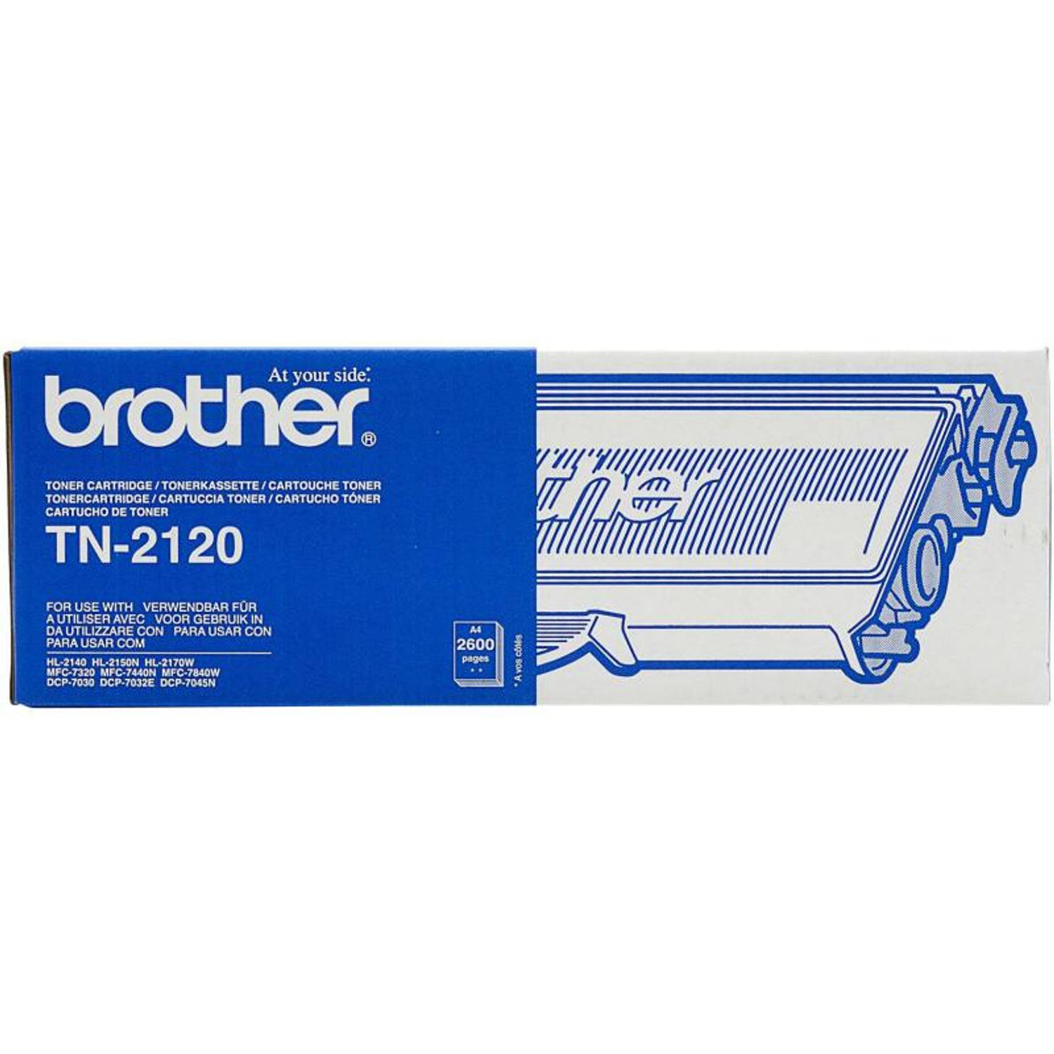 Brother TN-2120 zwart Toner