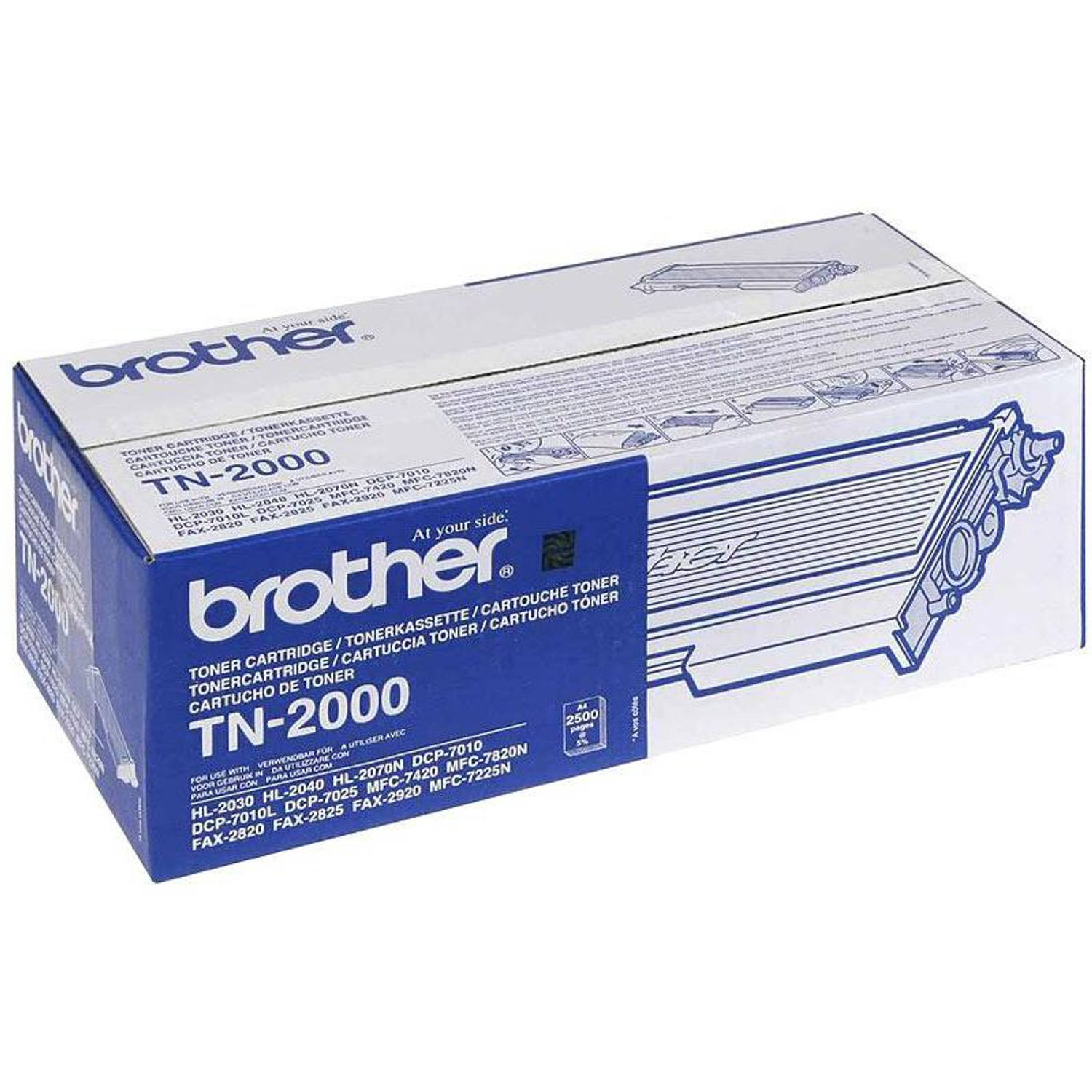 Brother TN-2000 zwart Toner