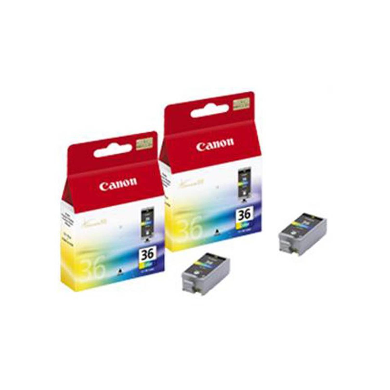 Canon CLI-36 twinpack kleur Cartridge