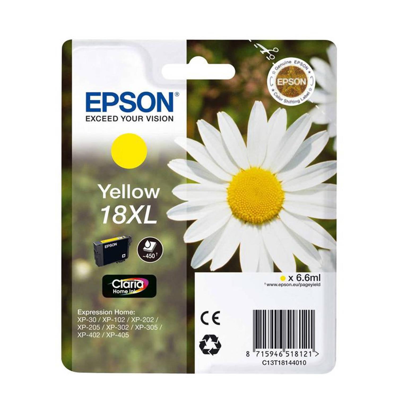 Epson 18XL geel Cartridge