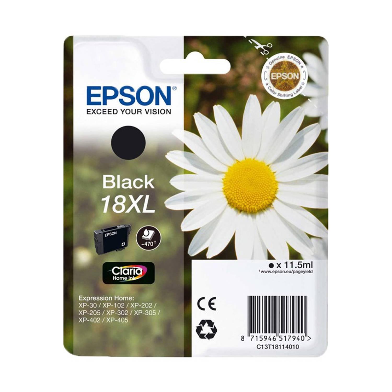Korting Epson 18xl Zwart Cartridge