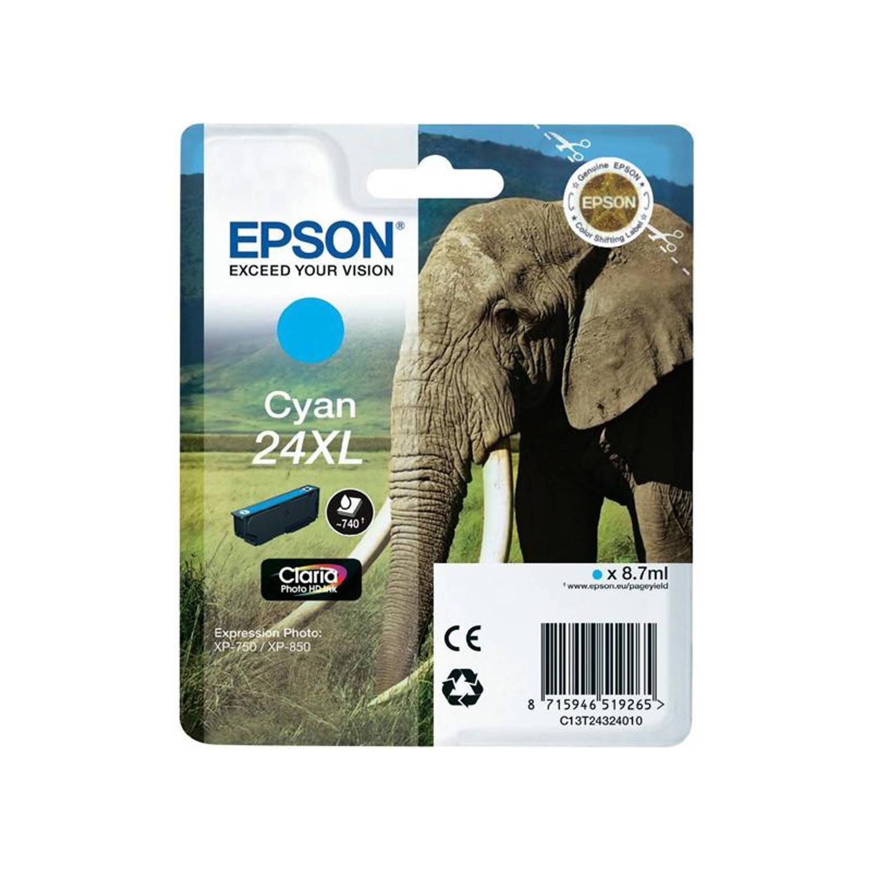 Epson 24XL cyaan Cartridge