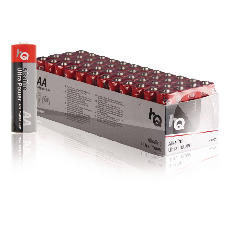HQ Alkaline AA-batterij doos 48 stuks