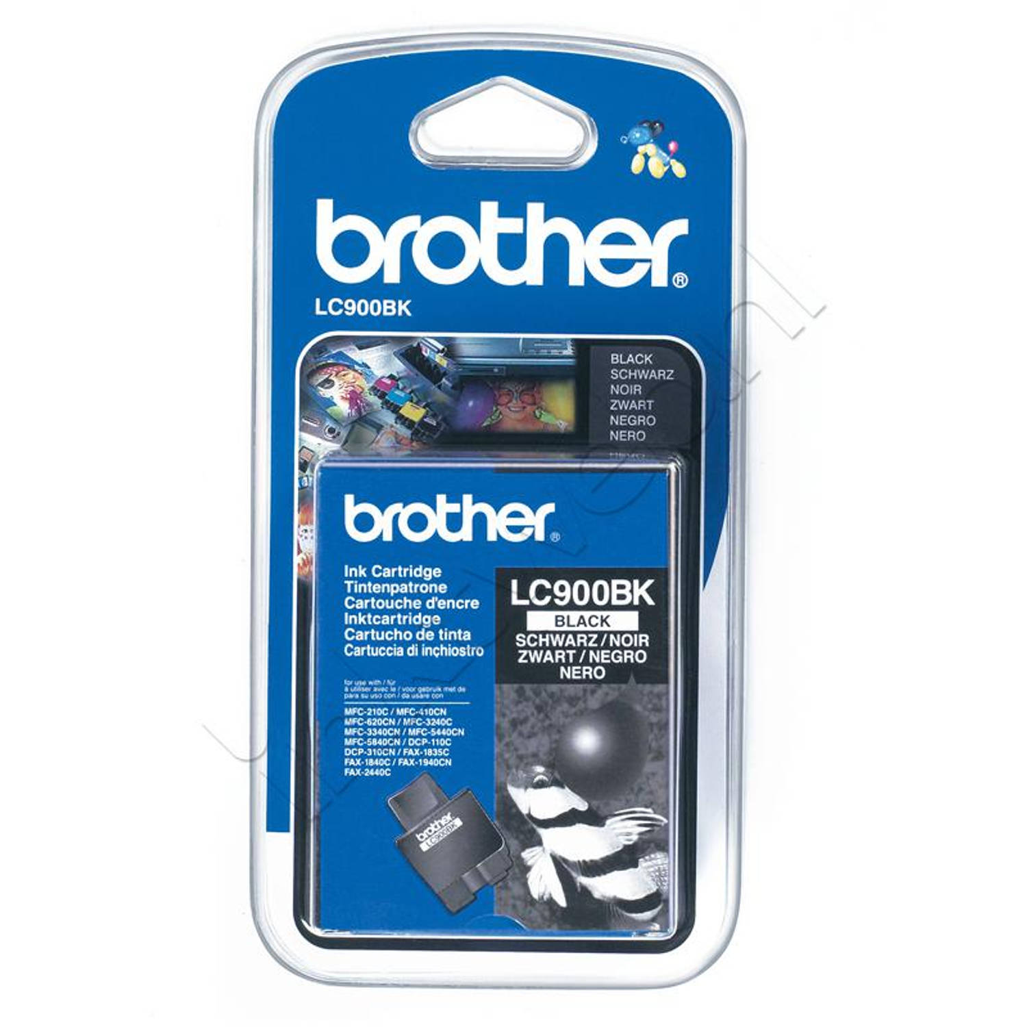 Brother LC-900BK zwart Cartridge