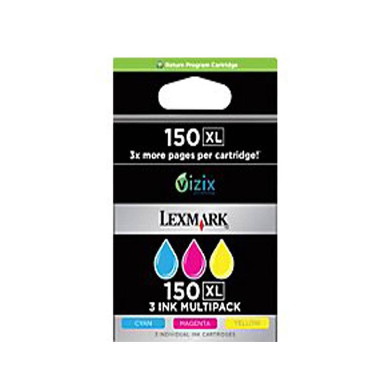 Lexmark 150XL multipack C/M/Y kleur Cartridge