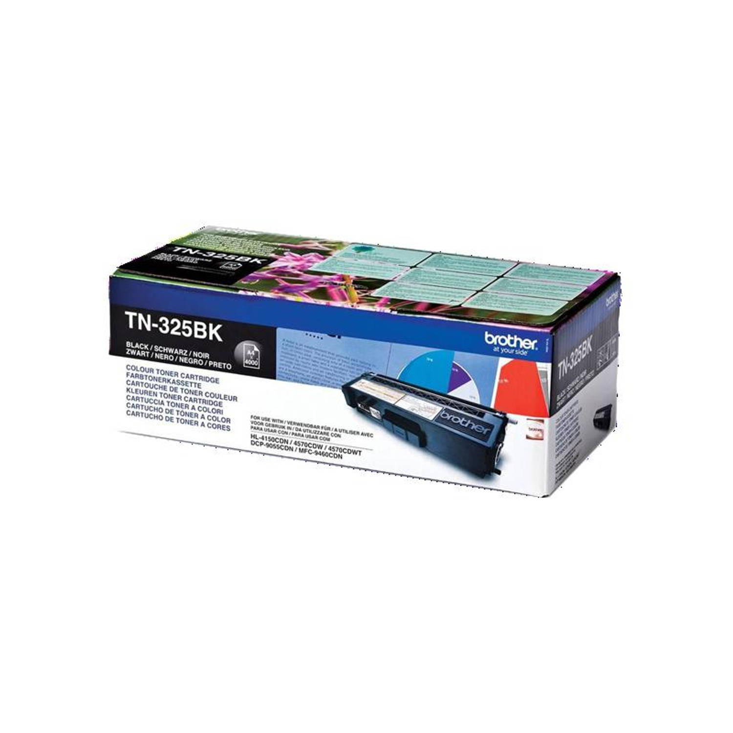 Brother TN-325 zwart Toner