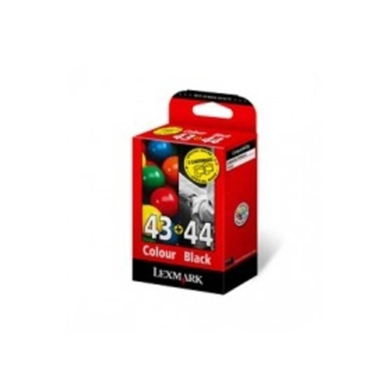 Lexmark 43XL en 44XL zwart en kleur Cartridge