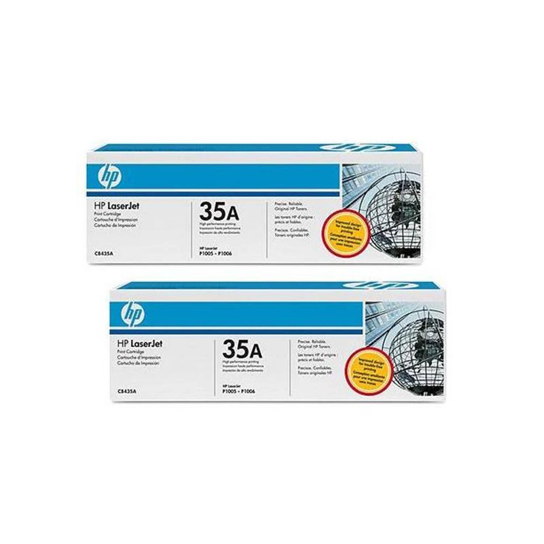 HP 35AD dual pack zwart Toner