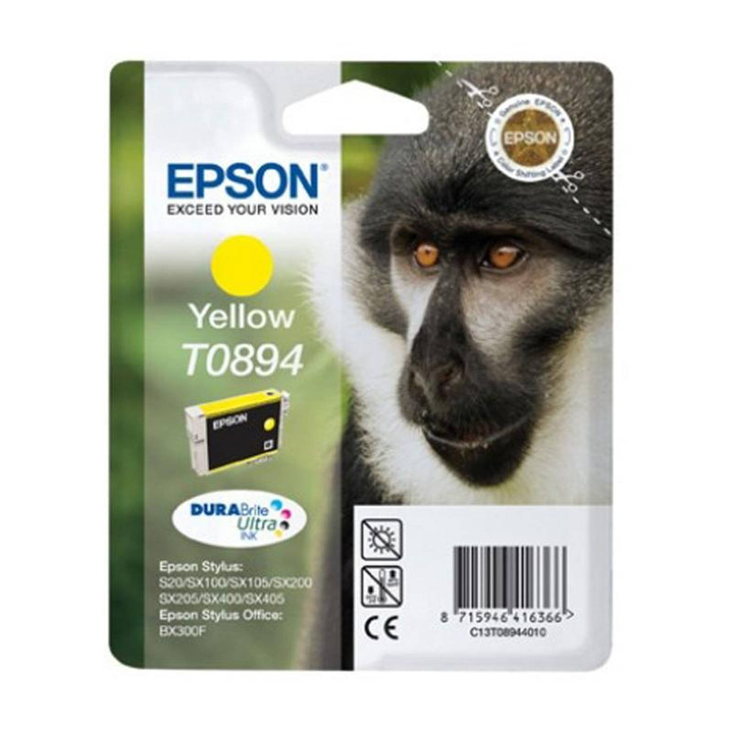 Epson T0894 geel Cartridge