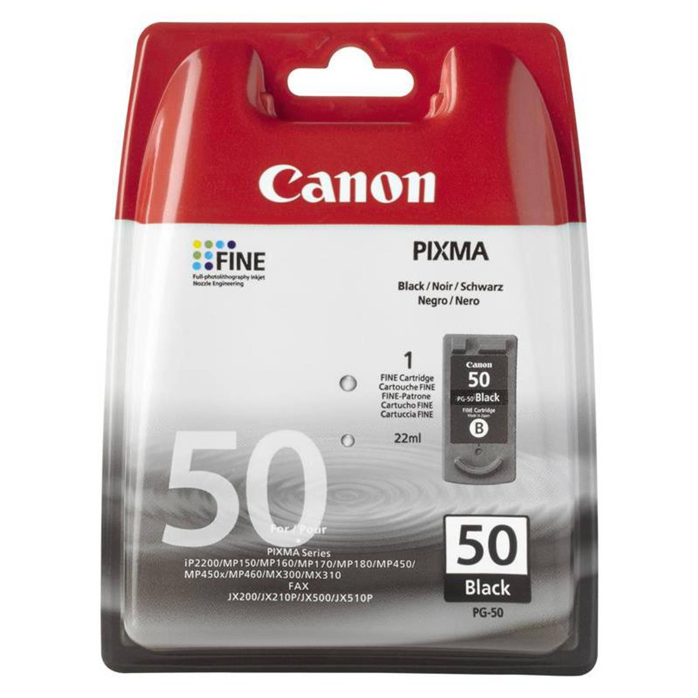 Canon PG-50 hoge capaciteit zwart Cartridge