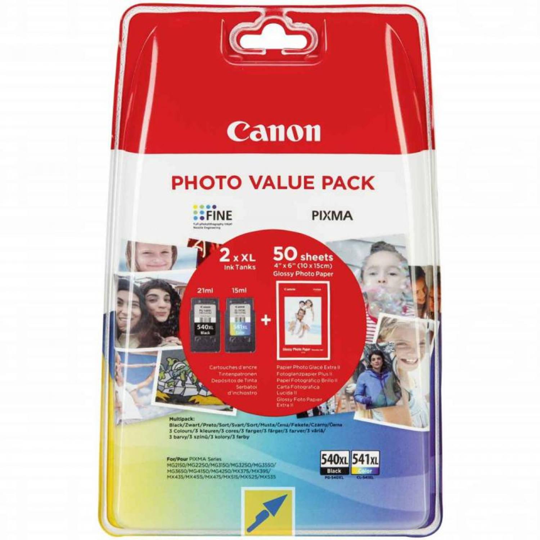 Canon PG-540XL/CL541XL Multipack zwart en kleur Cartridge