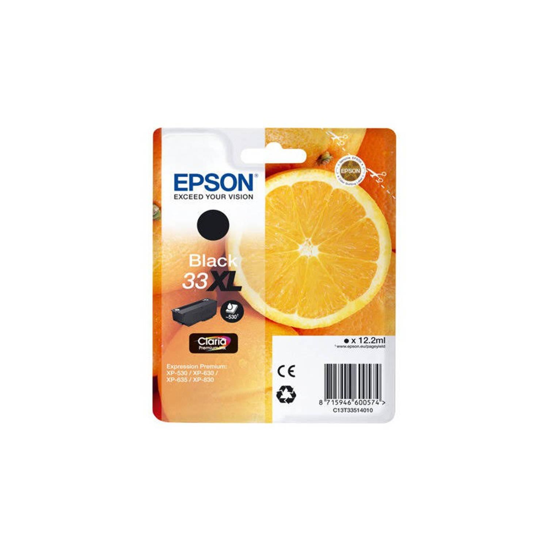 Korting Epson 33xl Zwart Cartridge