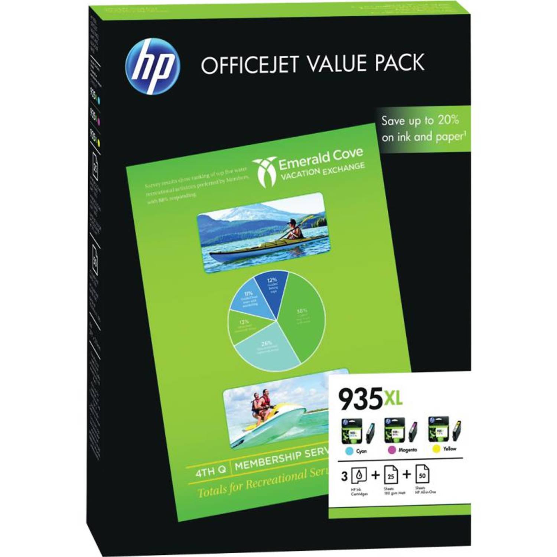 HP 935XL Office value pack kleur Cartridge
