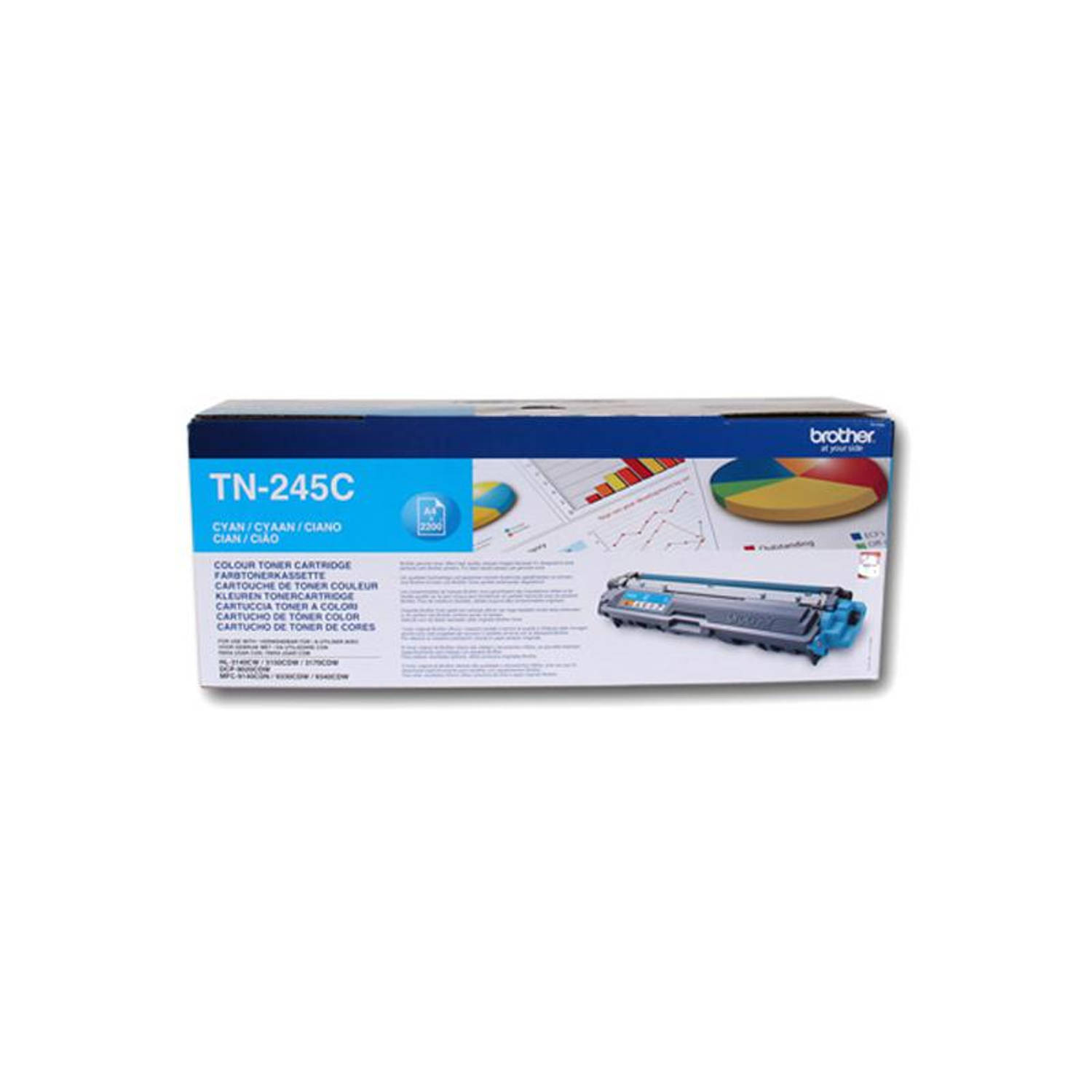 Brother TN-245 cyaan Toner