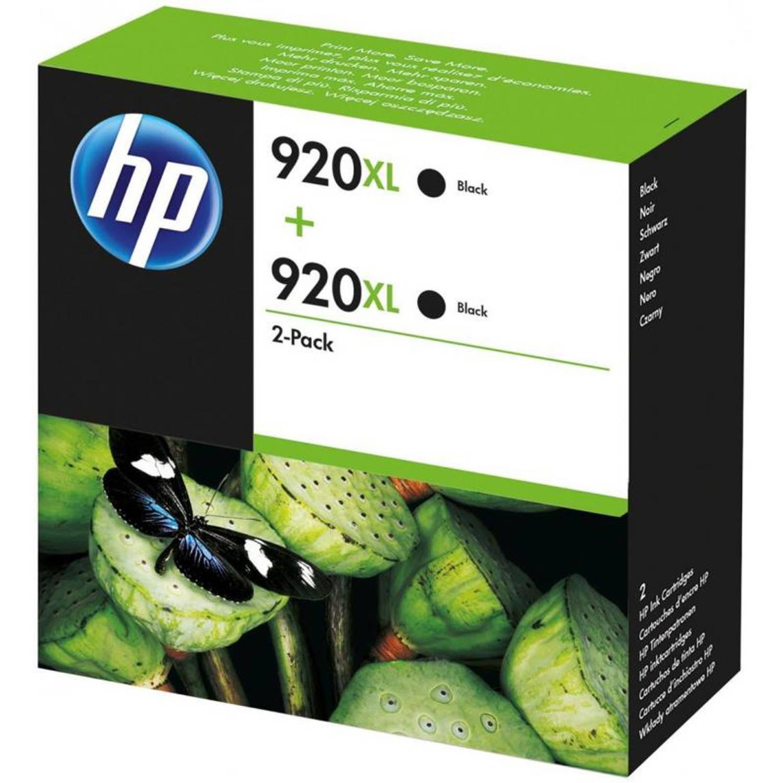 HP 920XL 2-pack zwart Cartridge