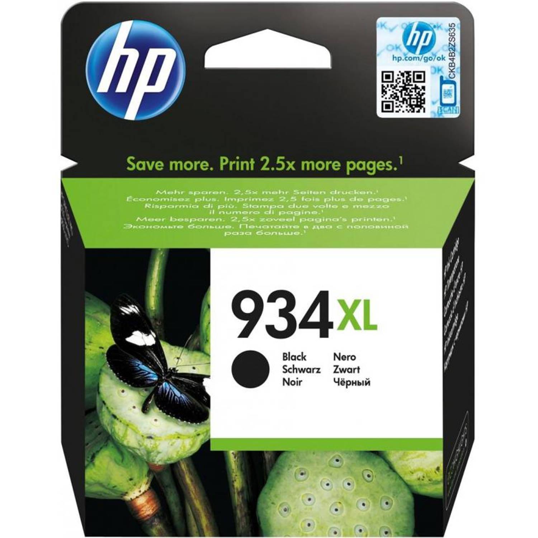 HP 934XL zwart Cartridge