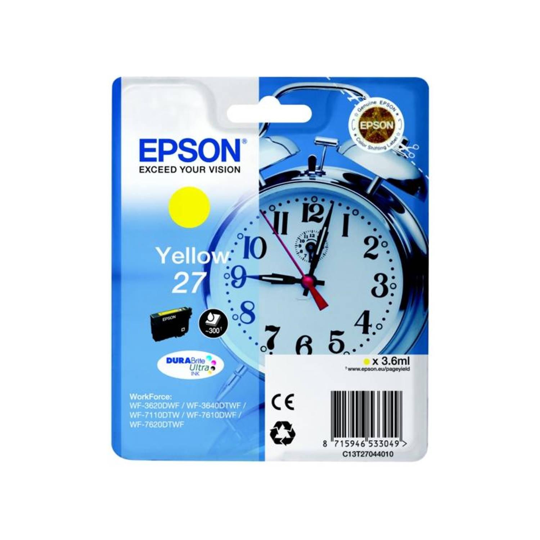 Epson 27 geel Cartridge