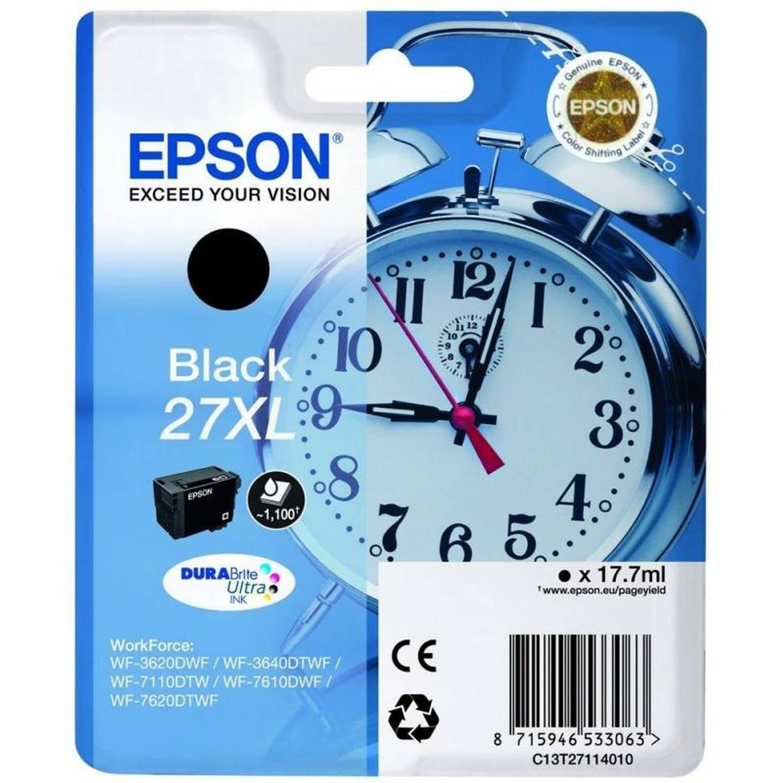 Epson 27XL zwart Cartridge