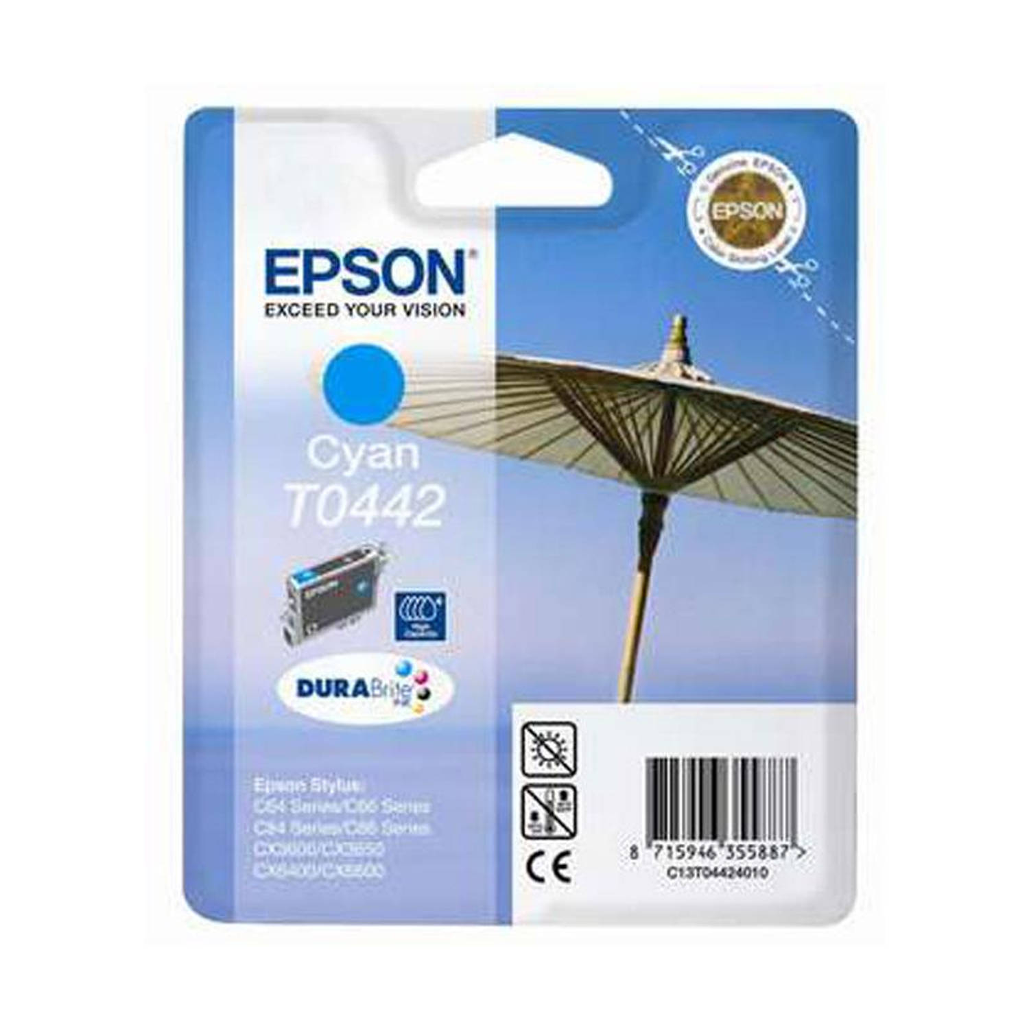 Epson T0442 cyaan Cartridge