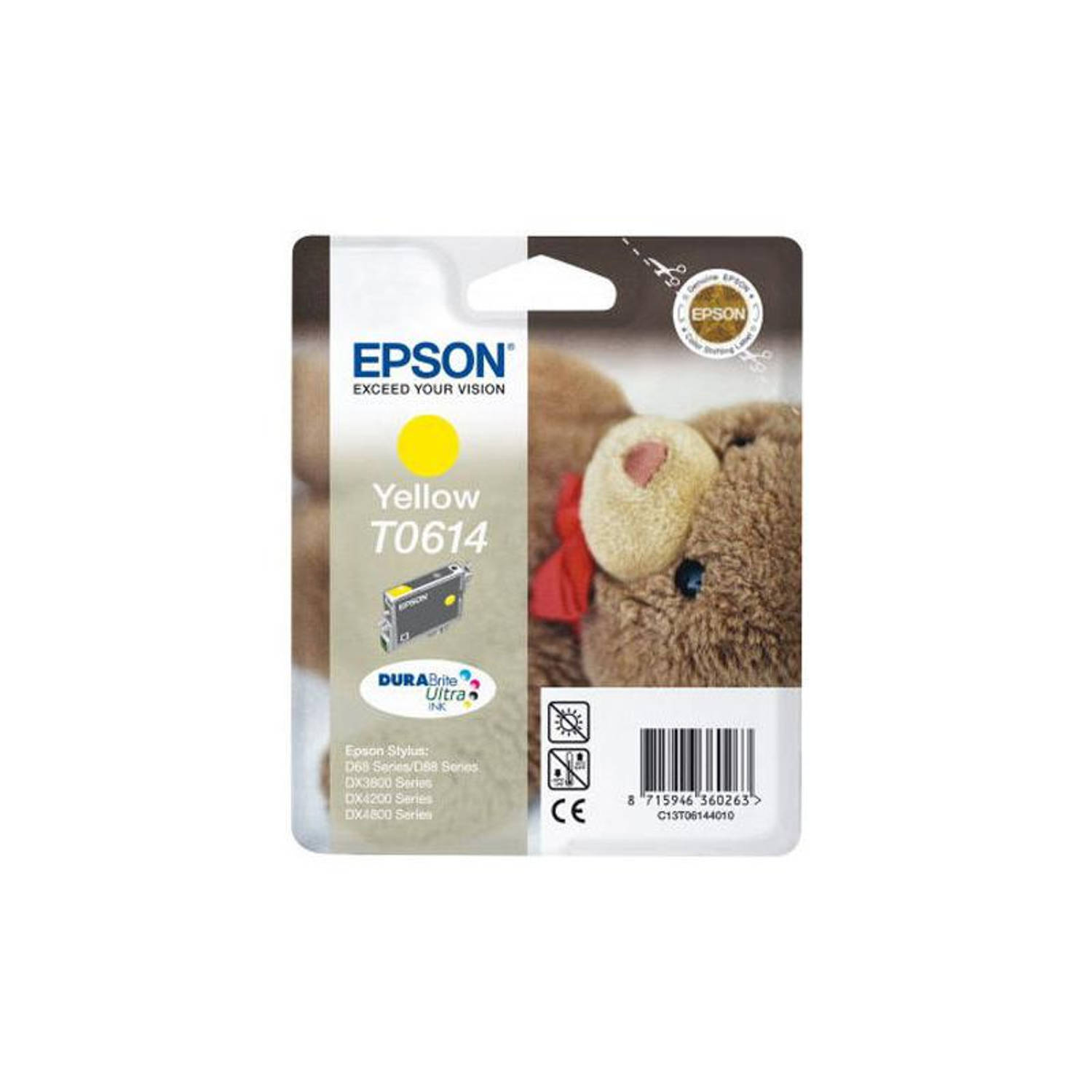 Epson T0614 geel Cartridge
