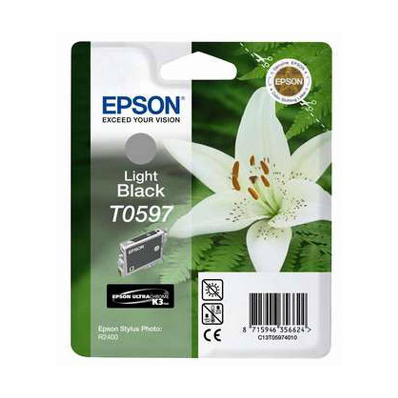 Epson T0597 licht zwart Cartridge