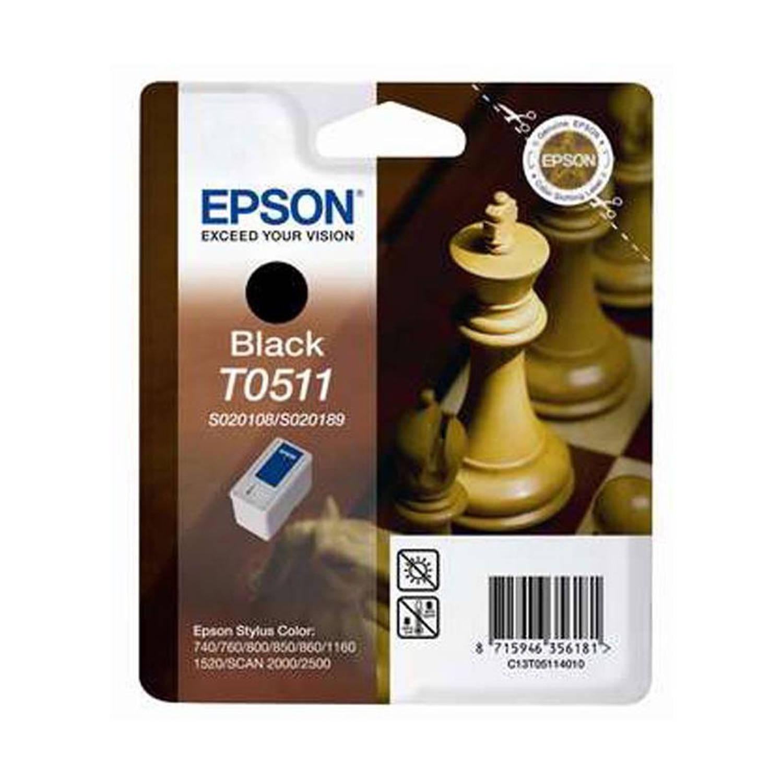 INKCARTRIDGE EPSON T051140 ZWART