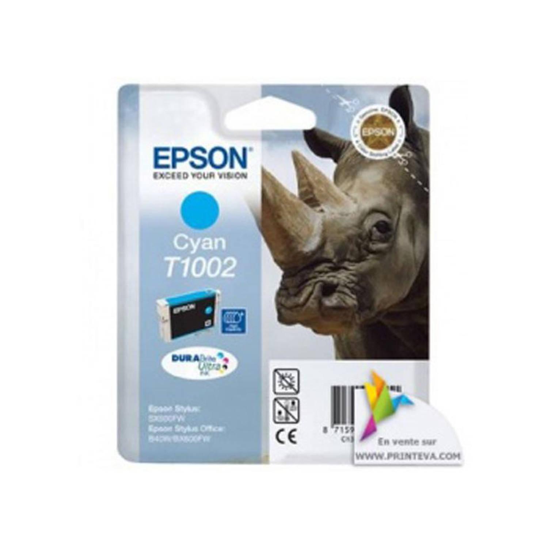 Epson T1002 cyaan Cartridge