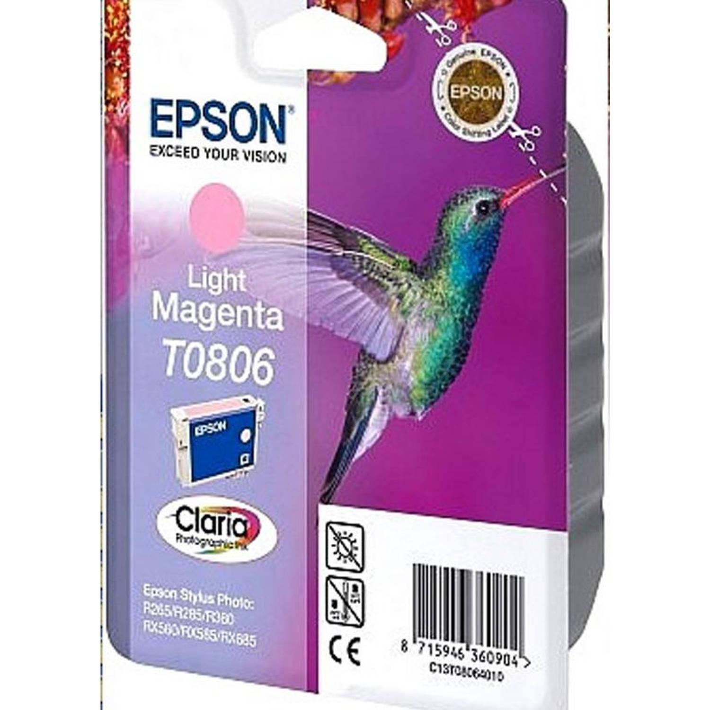 Epson T0806 licht magenta Cartridge