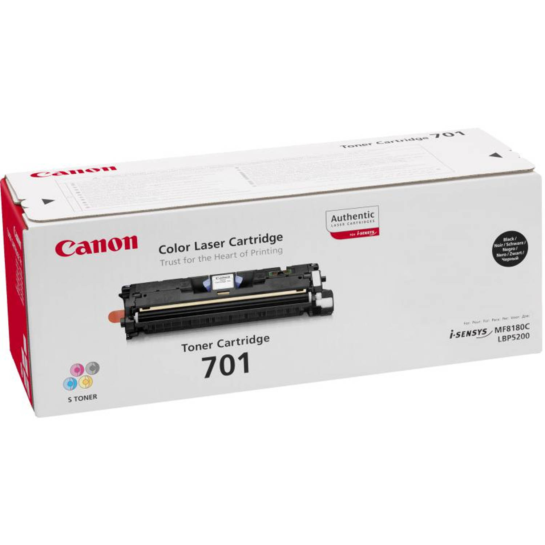 Canon 701 zwart Toner