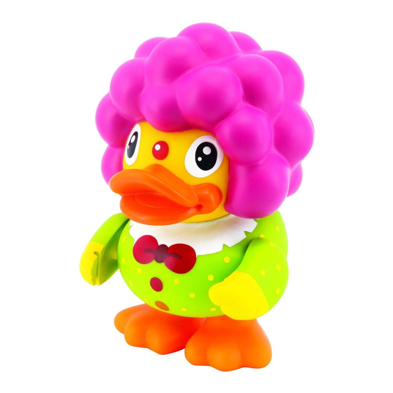 Afbeelding van B.Duck spaarpot eend geel clown 16 cm