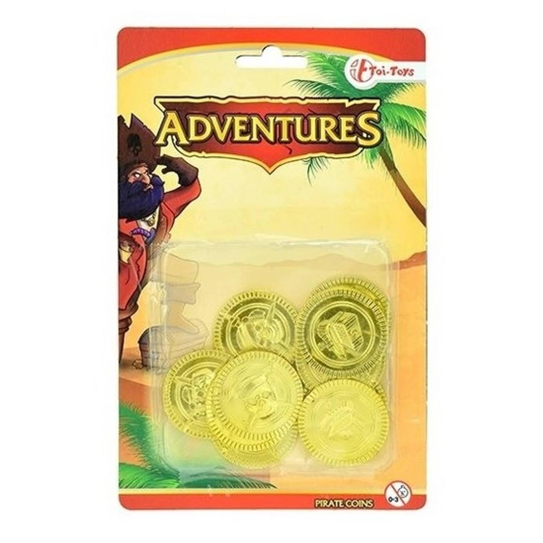 Korting Gouden Piraten Speelgoed Munten