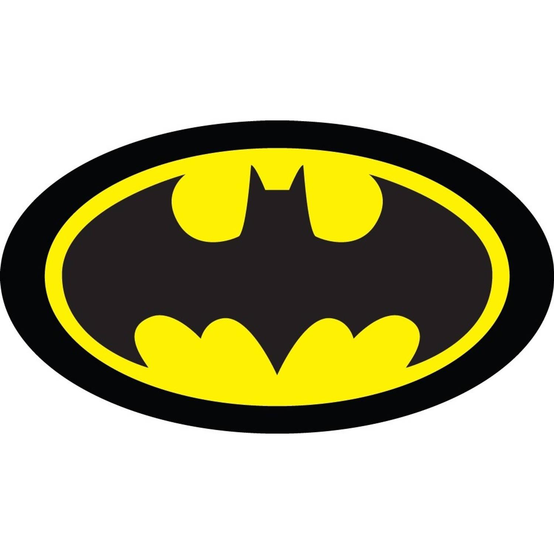 Carbotex kussen Batman-logo zwart/geel 40 cm
