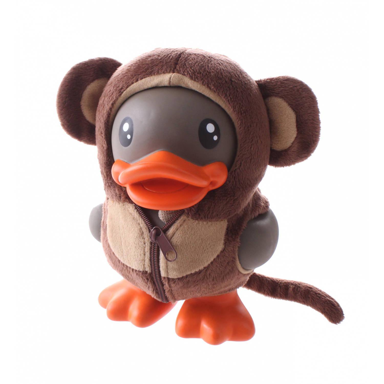 Afbeelding van B.Duck spaarpot eend bruin aapje 16 cm