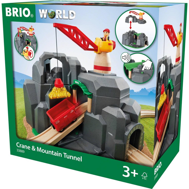 Brio Crane & Mountain Tunnel - 33889