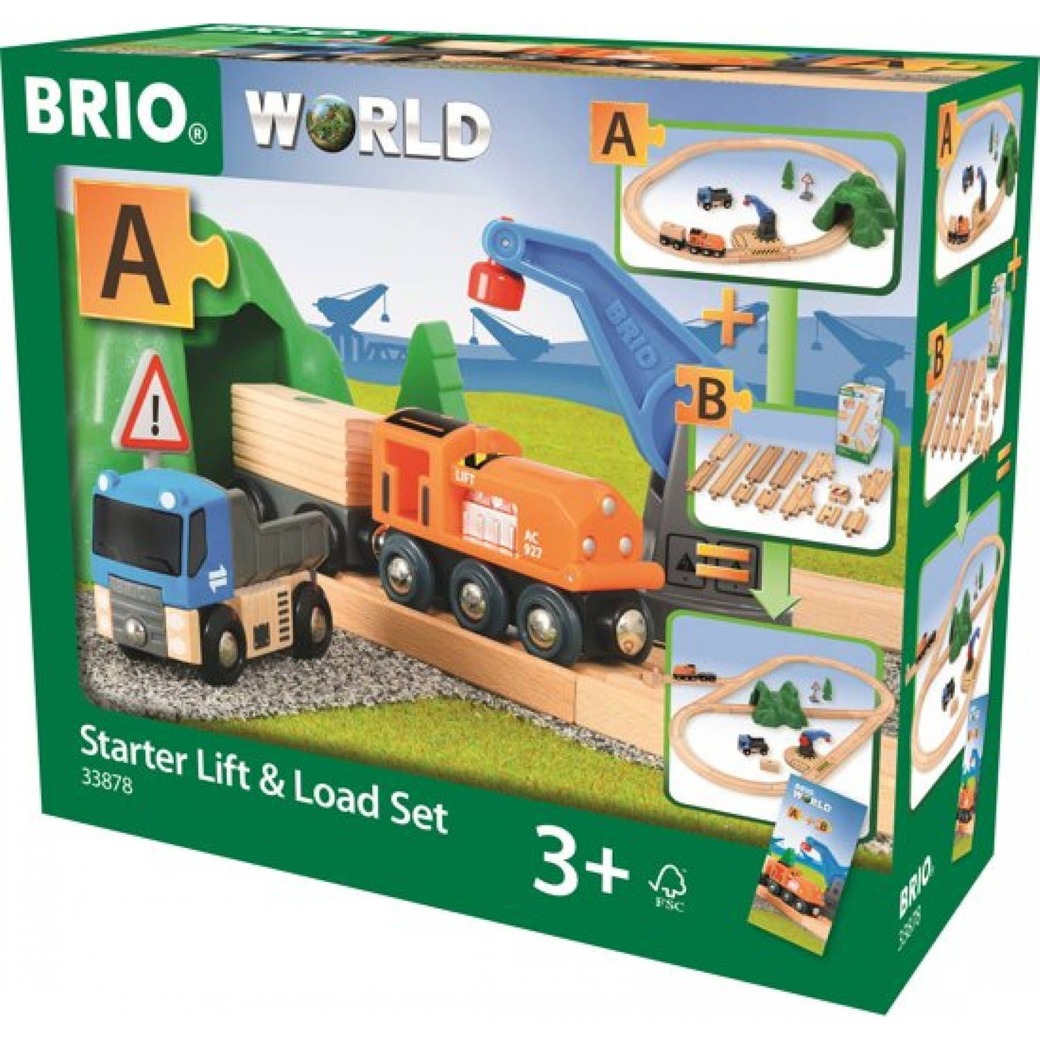 BRIO Starter Lift Load Set A 33878