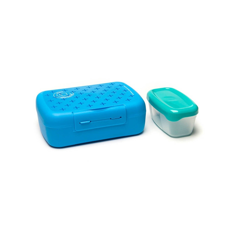 Afbeelding van Amuse lunch- en saladebox 2 liter blauw
