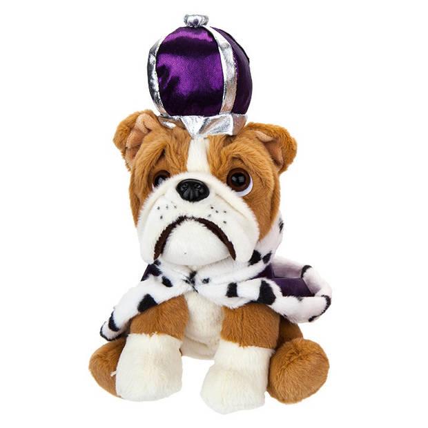 Kamparo hondenknuffel Royal 20 cm paars